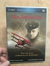 The Red Baron:The True Story of Manfred Von Richthofen(2xDVD UK)WW1 German Pilot