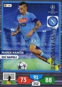 Adrenalyn XL Champions League 2013/2014 Marek Hamsik 13/14 Fans Favourite