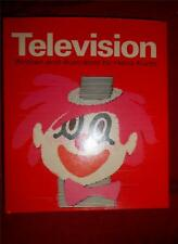 TELEVISION by Heinz Kurth * hc/dj how tv works for kids vintage 1974 very scarce