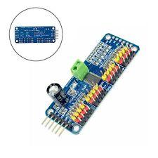 PCA9685 16 Channel 12 bit PWM Servo Driver I2C Interface Arduino Raspberry Pi