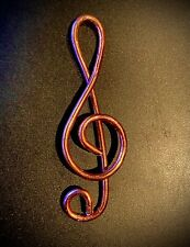 Copper Trebel Clef Bookmark/Paperclip - Benefits Children's Music Fund