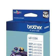 Brother Tintenpatrone LC-123BK Verbrauchsmaterial LC123BK Tintenpatrone