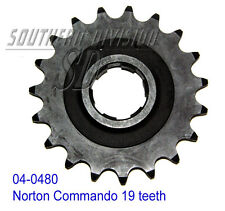 04-0480 GEARBOX SPROCKET 19 teeth Norton Commando PIGNONE GETR. 530 5/8x3/8 CHAIN