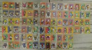 lot of 84 Animal Crossing e-Reader Cards (2002/2003) Great Condition Rare