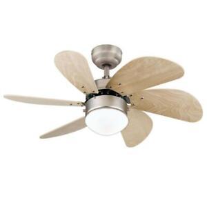 Westinghouse 7224000- Turbo Swirl 30-Inch Six-Blade Indoor Ceiling Fan