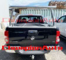 Polished Alloy Silver Adjustable (Height&Width) Ladder Rack for Ute Tub