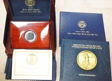 2009 Ultra High Relief Gold Double Eagle OGP Box w/ COA, Book & Cap - No Coins