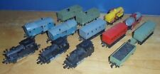 More details for group of rail route eschelle 1:143 scale locomotives and carriages/wagons