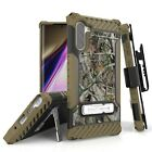 For Samsung Galaxy NOTE 10 PLUS Case with rotatable holster and Kickstand