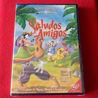 SALUDOS AMIGOS PAPERINO PIPPO Walt Disney dvd x bambini cartoni animati