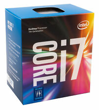 Intel Core i7-7700k, 4 x 4.20ghz, boxed CPU sin radiador, Kaby Lake, zócalo 1151