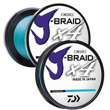 NEW DAIWA J-BRAID X4 BRAIDED LINE 3000 YDS Yards ISLAND BLUE select models