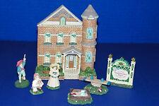 Maud Humphrey Bogart Village Collection Greenwood House Children Sandbox SeeSaw