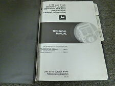John Deere 410D 510D Backhoe Loader Operation & Test Shop Service Repair Manual