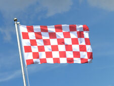 Liverpool Red & White Check Giant 8x5 feet Flag LFC The Kop Anfield Merseyside