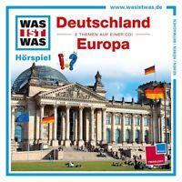 """WAS IST WAS """"FOLGE 34: DEUTSCHLAND/EUROPA"""" CD NEU"""