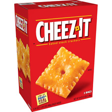 Cheez-It Original Cheese Flavor Baked Snack Crackers (24 oz., 2 Pack)