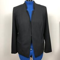 Chico's Women's Black Blazer Jacket Career Size 2 Large
