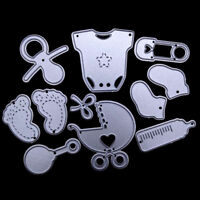 baby set metal cutting dies stencil scrapbook album paper embossing craft BDAUyu