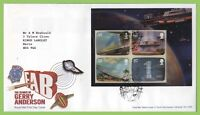 G.B. 2011 Gerry Anderson M/S on Royal Mail First Day Cover, Slough