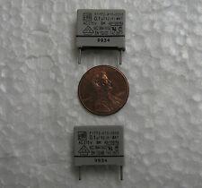 25 ERO Roederstein .1uF 275VAC 275V MKT polyester X2 Safety capacitors