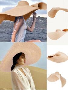 Couverture de chapeau de Paille pliable de protection contre les rayons Sun Hat