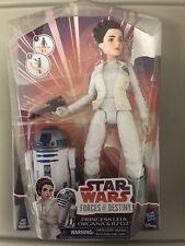 Star Wars Forces of Destiny Princess Leia Organs & R2-D2 Doll