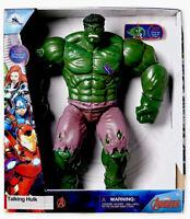 AVENGERS Talking HULK Action Figure Toy Disney Store MARVEL