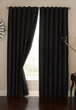 Absolute Zero Velvet Blackout Home Theater Curtain Panel 84Inch Black