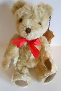 "HERMANN Teddy ORIGINAL LIMITED EDITION 12"" Mohair Teddy Hand Made West Germany"