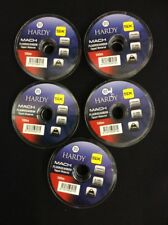 Hardy Mach Fluorocarbon Tippet Leader Fly 3lb 100m x5 Spools