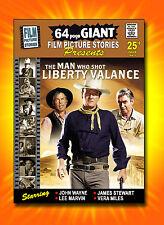 Very Rare JOHN WAYNE James Stewart Film Comic  THE MAN WHO SHOT LIBERTY VALANCE