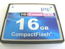 1GB / 16GB Compact Flash Card HI-SPEED ( 1 GB / 16 GB CF Karte )  pq1 gebraucht