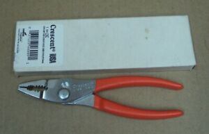 CRESCENT CooperTools USA ~ L-26 Cushion Grip Thin Straight Nose Combo Pliers NOS