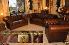 Chesterfield Premium  Pull Up Aniline Vintage Chestnut hell E500