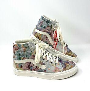 Vans Sk8-Hi Tapestry Canvas Multicolor Skateboard High Sneaker Women VN0A4U3C2PZ