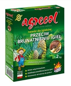 Fertilizer For Against Browning of Conifers Needles, 1.2 kg, AGRECOL