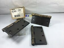 """3 Stanley 4.5"""" Ball Bearing Hinges Clfbb-179"""