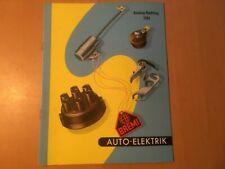 Bremi Nachtragkatalog Zündungsteile von 1961 mit Bilder  gebraucht für Oldtimer