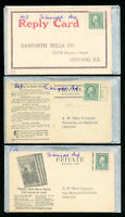 US Early Selection Of 7 Schermack Stamp Covers