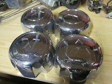 NEW MITSUBISHI WHEEL CAPS PAJERO SHOGUN L200 DELICA HUB CAPS CENTRE CAPS CHROME