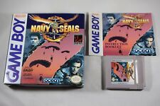 Navy Seals (Nintendo Gameboy) Complete in Box GREAT Shape