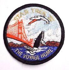 "Star Trek IV Voyage Home Movie Logo 3"" Patch- Lincoln Ent-FREE S&H (STPAL-017)"
