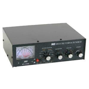 MFJ-949E 300W 1.8-30 MHz Antenna Tuner, Peak Reading Cross Meter, & Dummy Load