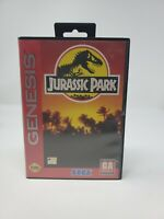 Jurassic Park (Sega Genesis, 1993) Complete CIB Authentic video game