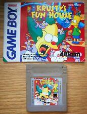 Krusty's Fun House (Nintendo Gameboy)