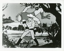 THE LONE RANGER FLIPS BAD GUY FROG ANIMATED CARTOON FILMATION 1966 NBC TV PHOTO