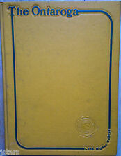 1981 LEES-MCRAE COLLEGE YEARBOOK, THE ONTAROGA, BANNER ELK, NC