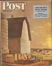 JULY 19  1947 SATURDAY EVENING POST magazine FARM - SUNRISE