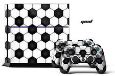 Designer Skin PS4 Playstation 4 Console + Controller Decals Football SOCCER